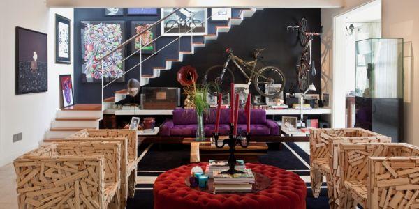 As bicicletas na decoração estão cada vez mais comuns e é ótima opção para repaginar o décor de seu lar (Foto: Divulgação)