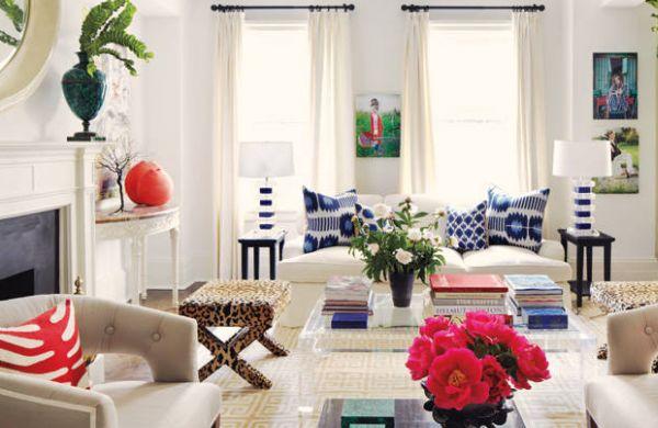 A decoração com combinação de estampas é moderna e atual e repagina seu espaço instantaneamente (Foto: Divulgação)