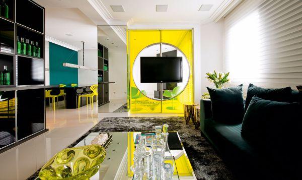 A decoração de ambientes com amarelo deixa a sua casa com clima mais moderno (Foto: Divulgação)