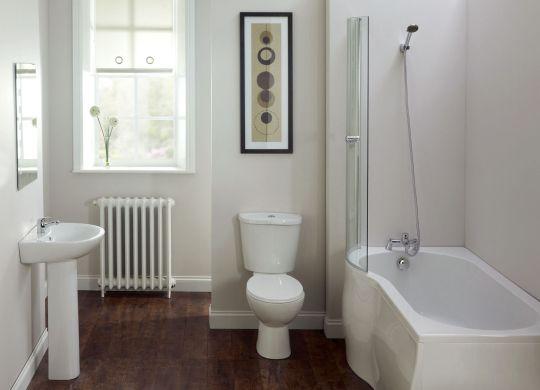 A decoração de banheiro e lavabos com branco e madeira é atual é ótima opção para quem quer mudar o estilo destes espaços (Foto: Divulgação)