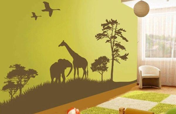 A decoração de paredes para quarto de crianças é tão importante quanto outros itens decorativos (Foto: Divulgação)
