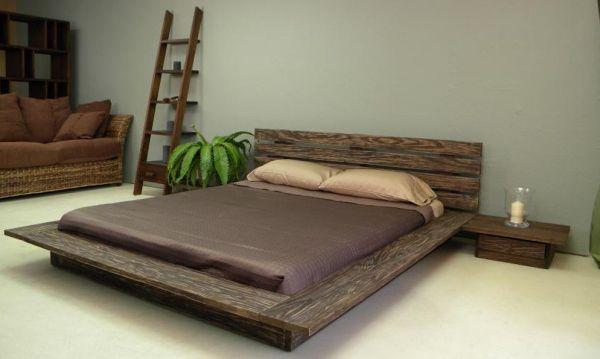 A decoração de quarto com cama japonesa pode ser a maneira mais fácil de diferenciar este espaço de sua casa (Foto: Divulgação)