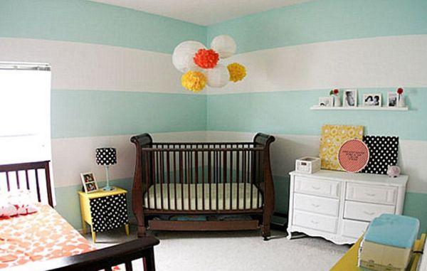 Decoração e Projetos Decoração de Quarto de Bebê com Irmão mais Velho