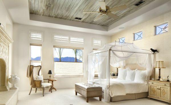 A decoração de quartos com dossel é uma forma diferenciada de repaginar o décor de seu quarto (Foto: Divulgação)