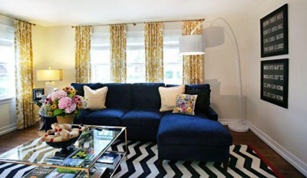 A decoração navy é ótima opção para deixar o clima de sua casa muito mais leve e descontraído (Foto: Divulgação)