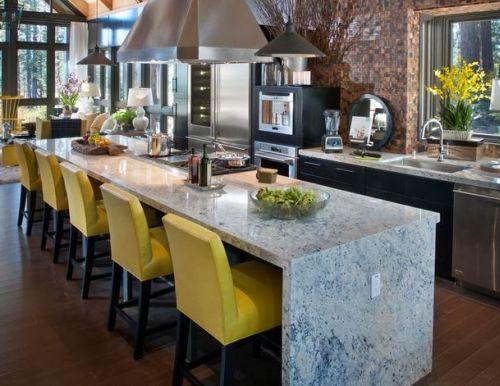Another Image For Bancada de cozinha: 65 inspirações para sua casa