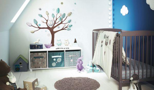 A decoração de parede para quarto de bebê pode ser a que você quiser e seguindo também o estilo que você quiser (Foto: Divulgação)