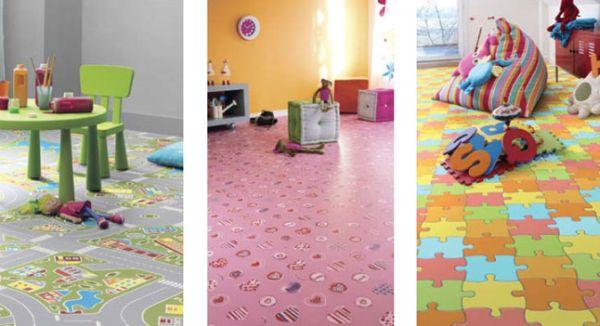 A decoração de quarto infantil com piso divertido é perfeita para repaginar todo o espaço de forma rápida e precisa (Foto: Divulgação)