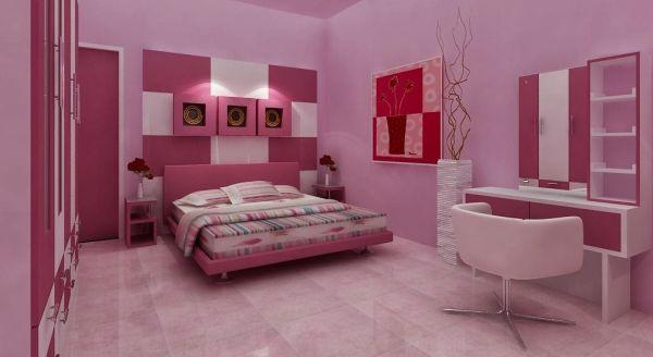 A decoração para quarto cor de rosa pode ser usado por pessoas de todas as idades (Foto: Divulgação)