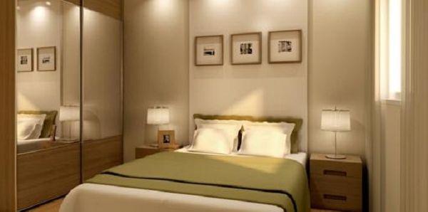 A decoração para quartos difíceis pode ser mais fácil de ser conseguida do que você imagina (Foto: Divulgação)