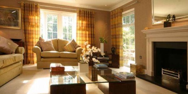 A decoração para sala de estar aconchegante é fácil de ser conseguida (Foto: Divulgação)