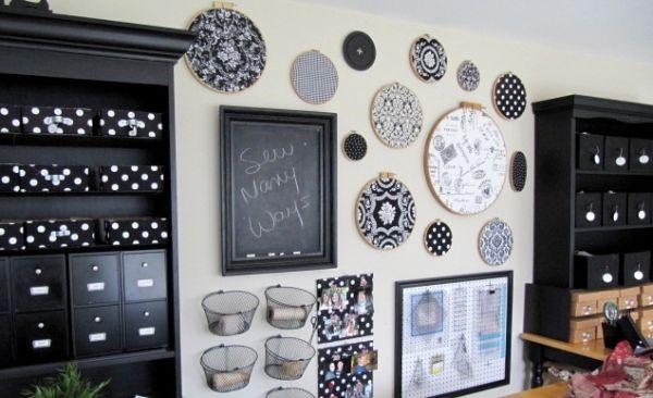 É muito fácil aproveitar tecidos na decoração, basta utilizar a sua criatividade (Foto: Divulgação)