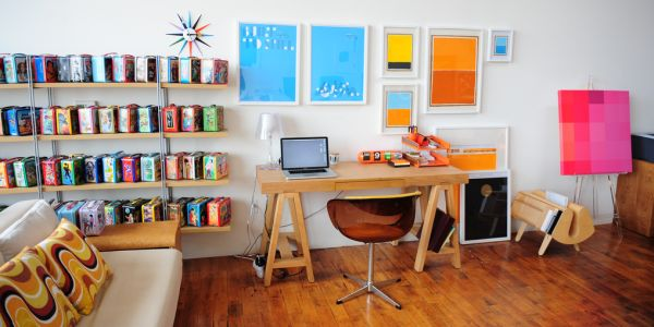 Os projetos de escritórios para apartamentos devem se adequar de acordo com o tamanho do apartamento (Foto: Divulgação)