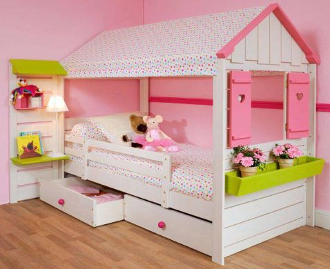 decora o e projetos decora o diferente para quarto de meninas. Black Bedroom Furniture Sets. Home Design Ideas