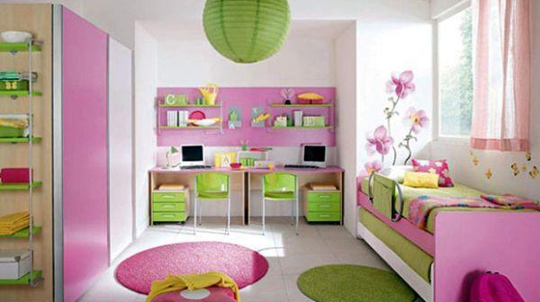 A decoração diferente para quarto de meninas está em alta e irá agradar em cheio à sua filha (Foto: Divulgação)