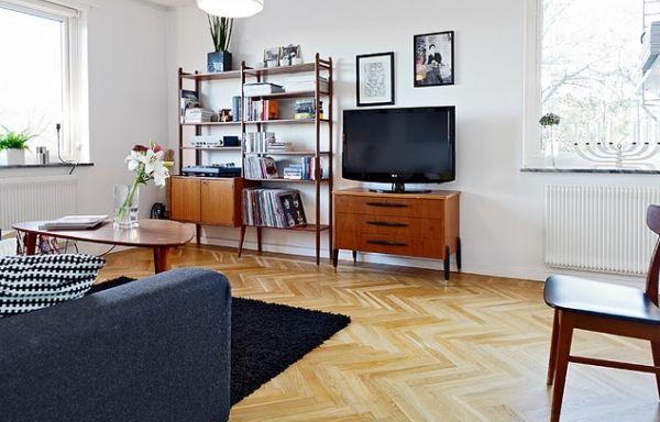 A decoração com móveis pés palito é atual e repagina qualquer espaço (Foto: Divulgação)