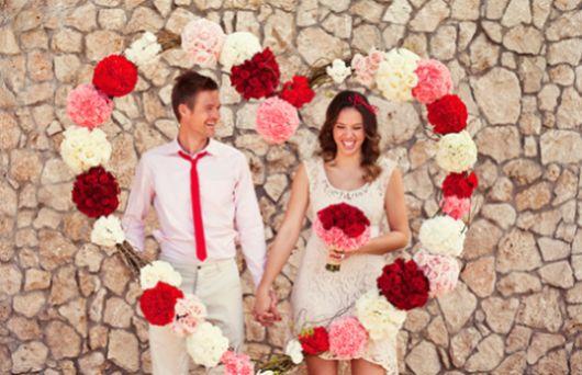 A decoração de casamento no dia dos namorados deve ser bem especial (Foto: Divulgação)