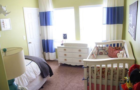 A decoração de quarto pequeno para duas crianças deve ser bem interessante, para que seus filhos se sintam bem nos momentos passados ali (Foto: Divulgação)