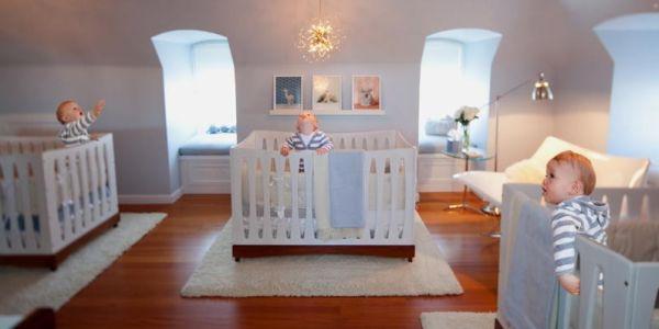 A decoração para quarto de trigêmeos deve prezar pela criatividade (Foto: Divulgação)