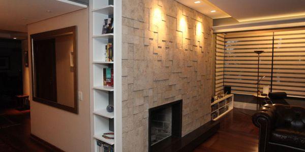 Optar por projetos de drywall pode resolver os seus problemas em relação à bagunça e à sujeira no momento da reforma (Foto: casa.abril.com.br)