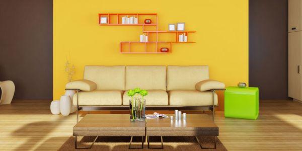 Atualmente a decoração verde e amarelo para casas é o que está em alta, independente do estilo (Foto: Divulgação)