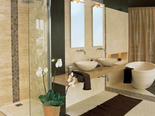 Copie algumas ideias de decoração criativa para banheiros e renove este ambiente (Foto: trendecoration.com)