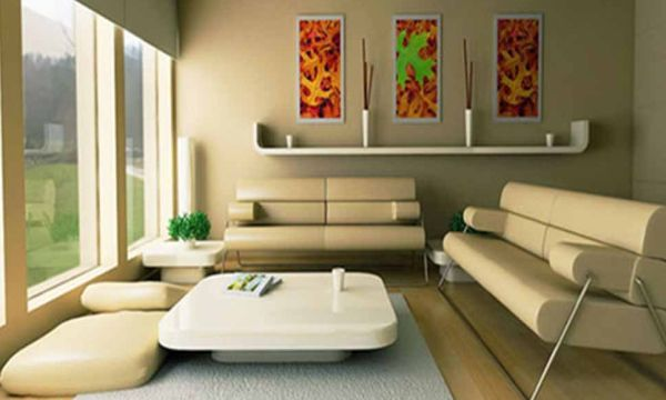 Usar as cores na decoração de salas é solução barata para repaginar o visual deste cômodo (Foto: timticks.com)