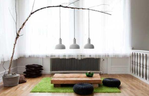 A decoração com materiais naturais deixa seus ambientes com visual mais aconchegante e acolhedor, já que nos aproxima da natureza (Foto: lushome.com)