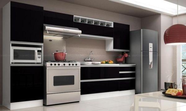 Projetos de cozinhas práticas podem ser bem variados, dependendo de suas necessidades (Foto: qualityplanejados.com.br)