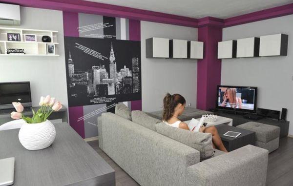 A decoração descolada para apartamentos de jovens pode conter os mais variados elementos e itens e ser muito interessante (Foto: rexohome.com)