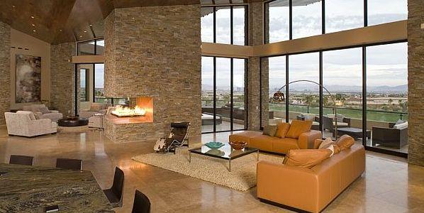 A decoração de ambientes com tijolos aparentes pode ser mais interessante do que você imagina (Foto: homedit.com)
