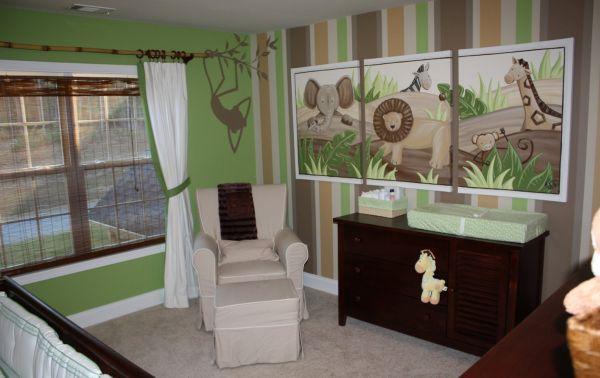 A decoração para quarto infantil safári pode assumir várias facetas diferentes (Foto: homeidea.pics)