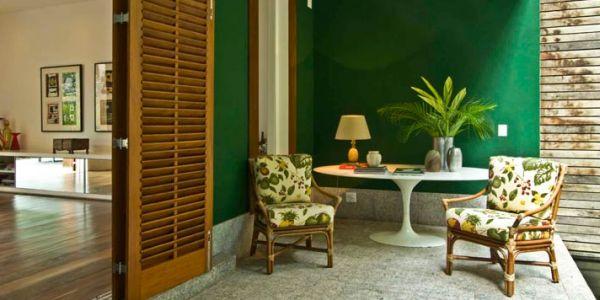 A decoração de varandas escuras precisa valorizar este ambiente (Foto: jeitinhopradecorar.blogspot.com)