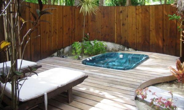 Decora o e projetos decora o para quintal pequeno com for Fotos piscinas para espacios pequenos