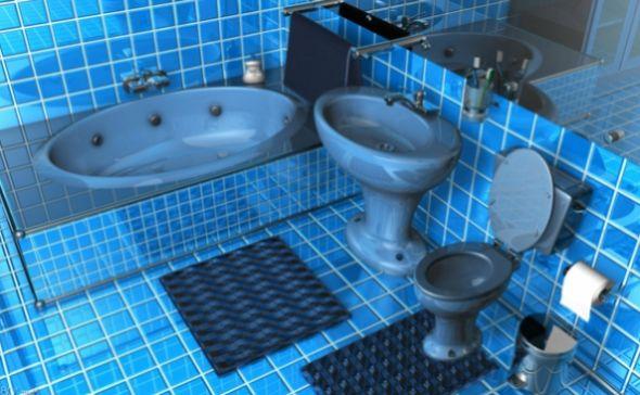 O projeto para banheiro masculino de adolescente pode assumir o mesmo estilo do quarto do garoto (Foto: archzine.de)