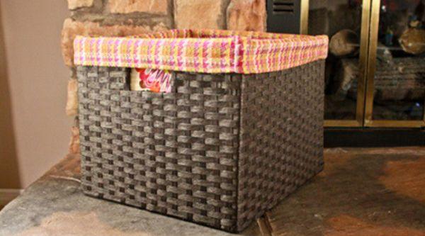 É mais fácil do que você imagina decorar um cesto de palha simples (Foto: thatswhatchesaid.net)
