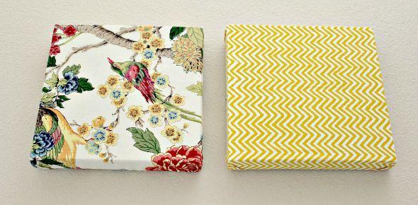 Faça um quadro decorativo rápido e consiga um objeto de decoração simples, mas muito bonito (Foto: tonyastaab.com)