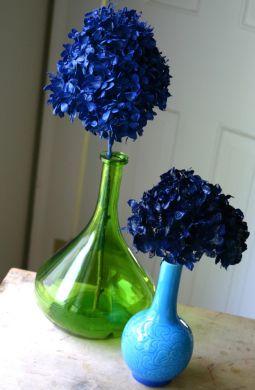 Faça um arranjo floral decorativo rapidamente e deixe a sua casa mais alegre (Foto: cfabbridesigns.com)