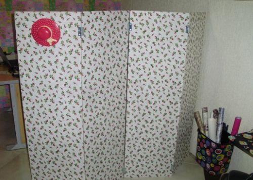 Este biombo divisor de ambientes pode ter o estilo e modelo que você quiser (Foto: coletivoverde.com.br)