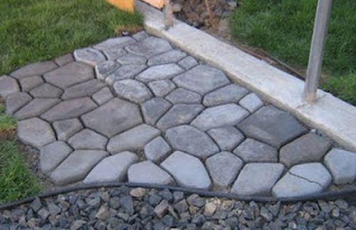 Com pavimentos para jardins a área externa de seu lar ficará mais bonita (Foto: villartedesign-artesanato.com.br)
