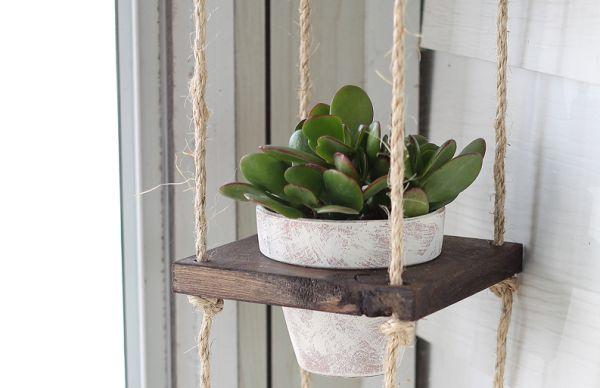 Este lindo suporte decorativo rústico vai encantar os seus convidados (Foto: iheartnaptime.net)
