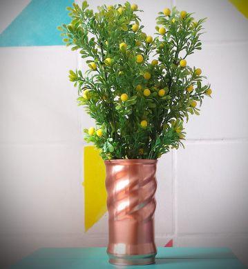Artesanato reciclado para decorar sua casa pode ser mais sofisticado do que você imagina (Foto: modait.com.br)