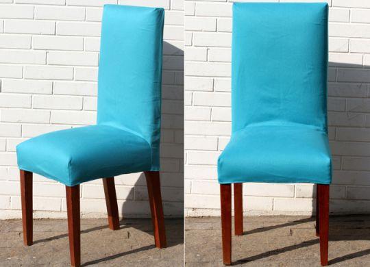 Capa para renovar sua cadeira pode renovar também o seu ambiente (Foto: mulher.uol.com.br)