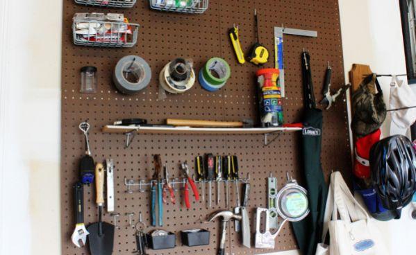 Com este organizador de ferramentas os seus consertos ficarão mais rápidos (Foto: positivelysplendid.com)
