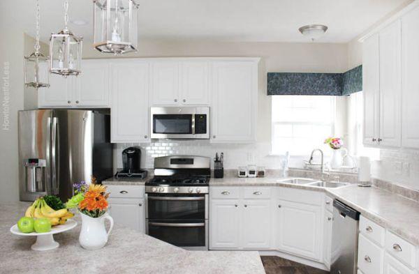 Reformar a cozinha com azulejos é muito fácil (Foto: howtonestforless.com)