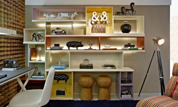 Fitas de LED são modernas e incrementam com primor a decoração de seus ambientes (Foto: revista.zap.com.br)