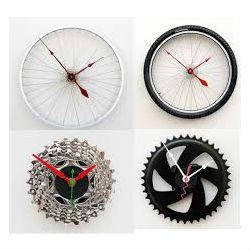 11 ideias de decoração com rodas de bicicleta