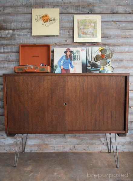 Buffet transformando é ótima saída para repaginar o seu décor (Foto: brepurposed.com)