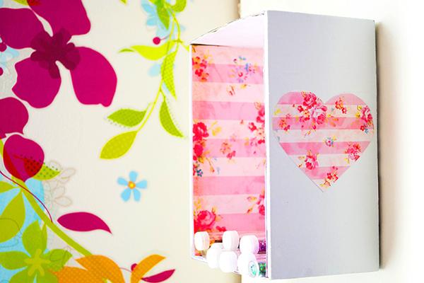 decorando com nicho de papelão
