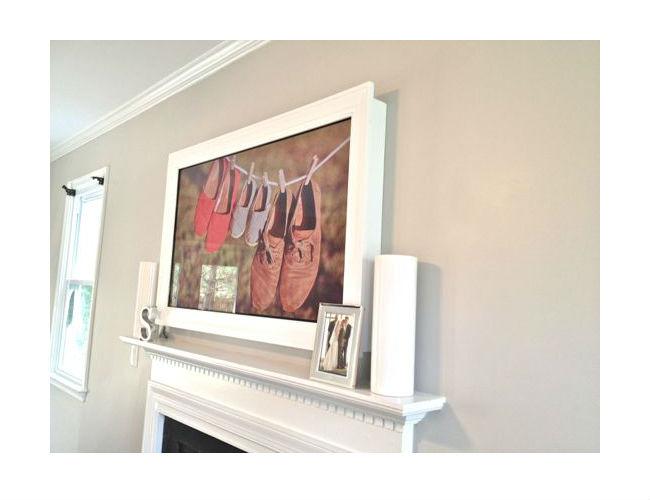 decora o e projetos 12 ideias decorativas para colocar tv. Black Bedroom Furniture Sets. Home Design Ideas